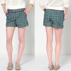 Anthro Corey Lynn Calter In the Square Shorts